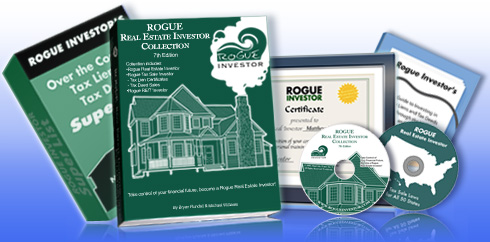 Rogue Real Estate Investor Collection: book and online course