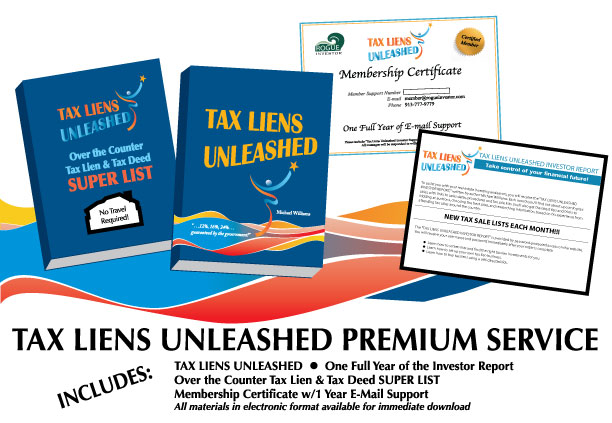 Tax Liens Unleashed Premium Service