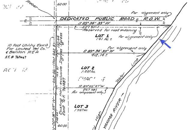 next to Yakima River - flood zone potential?
