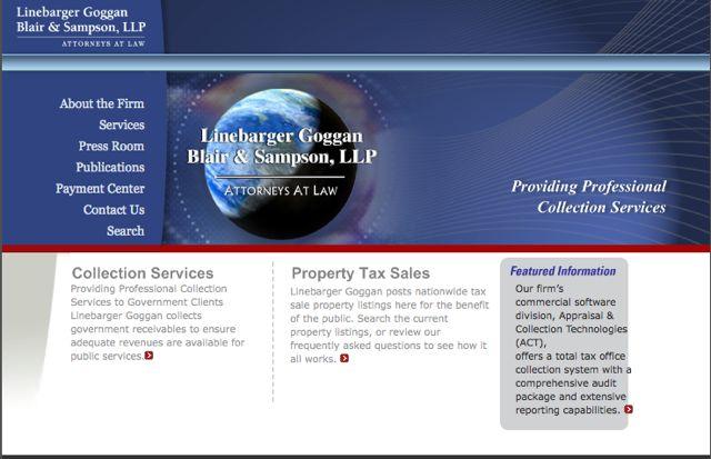 Publicans Texas Tax Deed Site