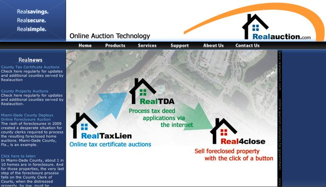 Real Auction website